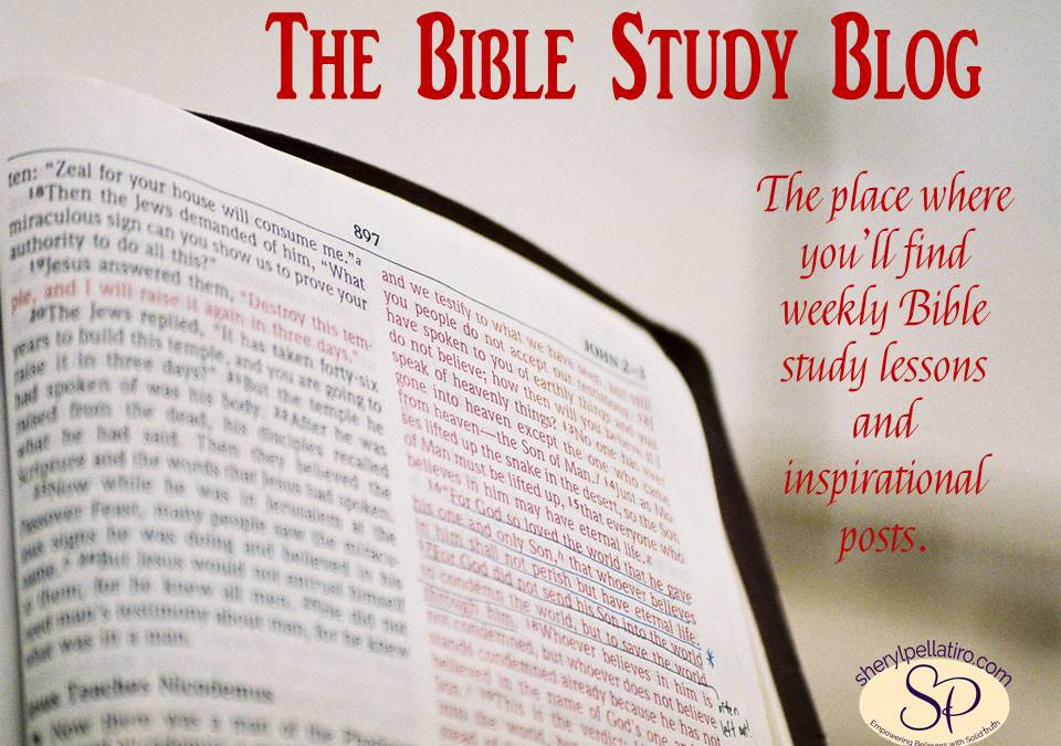 Welcome to the Bible Study Blog!