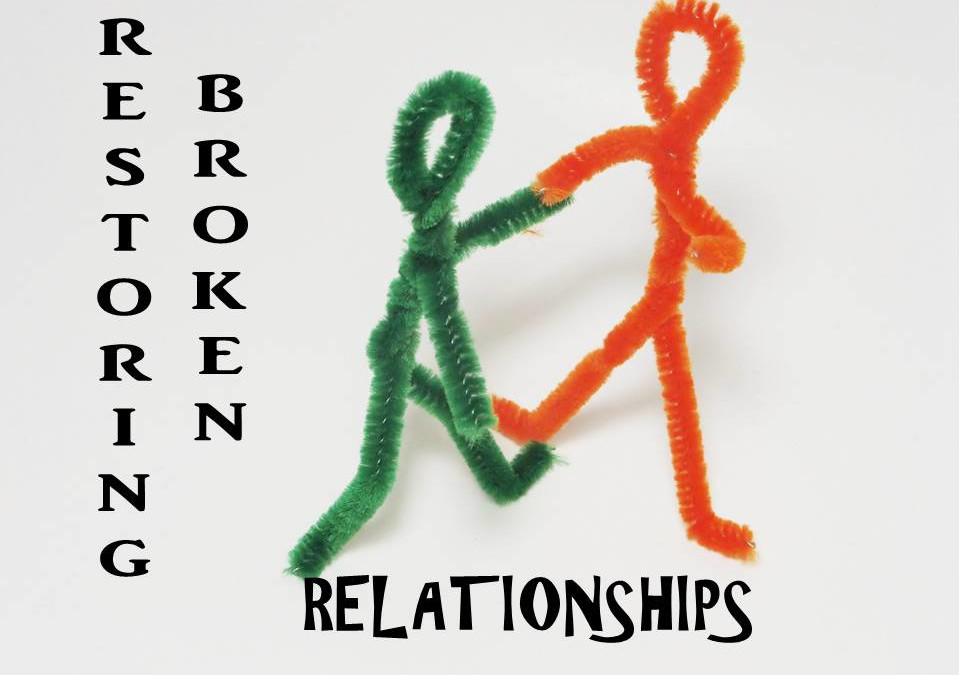 How to recover from broken relationship