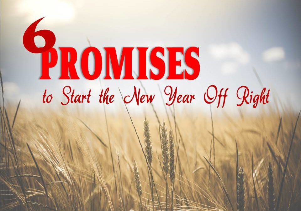 6 Promises to Start the New Year Off Right!