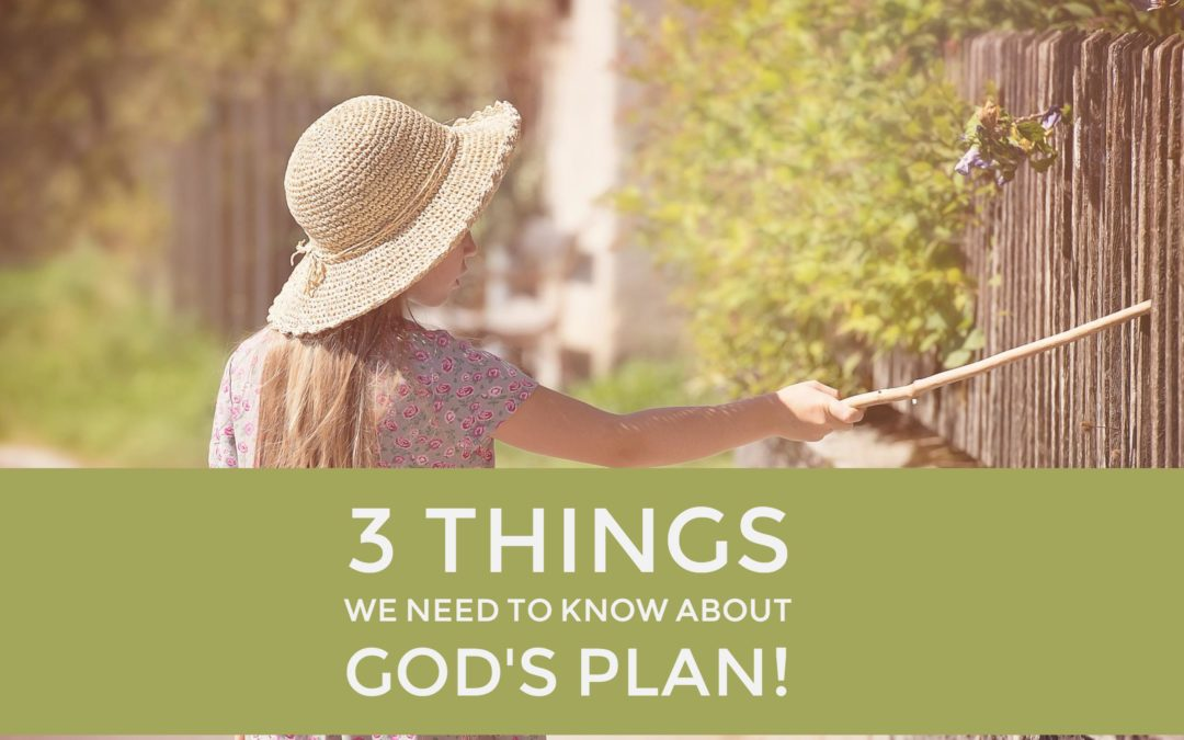 3 Things We Need to Know About God's Plan!